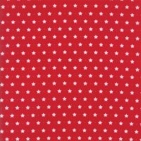 Moda Fabrics ~ Sugar Plum Christmas ~ Twinkle Star Candy Red