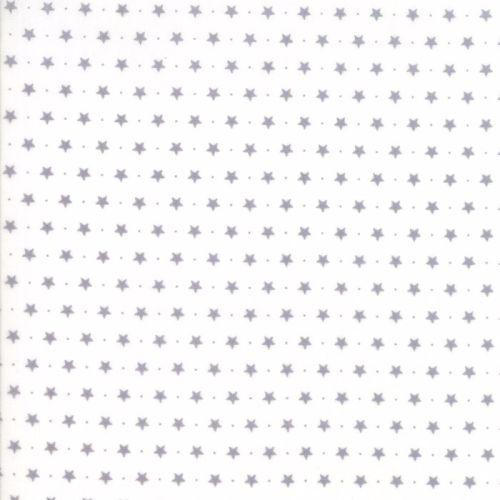 Moda Fabrics ~ Sugar Plum Christmas ~ Twinkle Star Icicle White