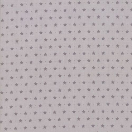 Moda Fabrics ~ Sugar Plum Christmas ~ Twinkle Star Mouse Grey