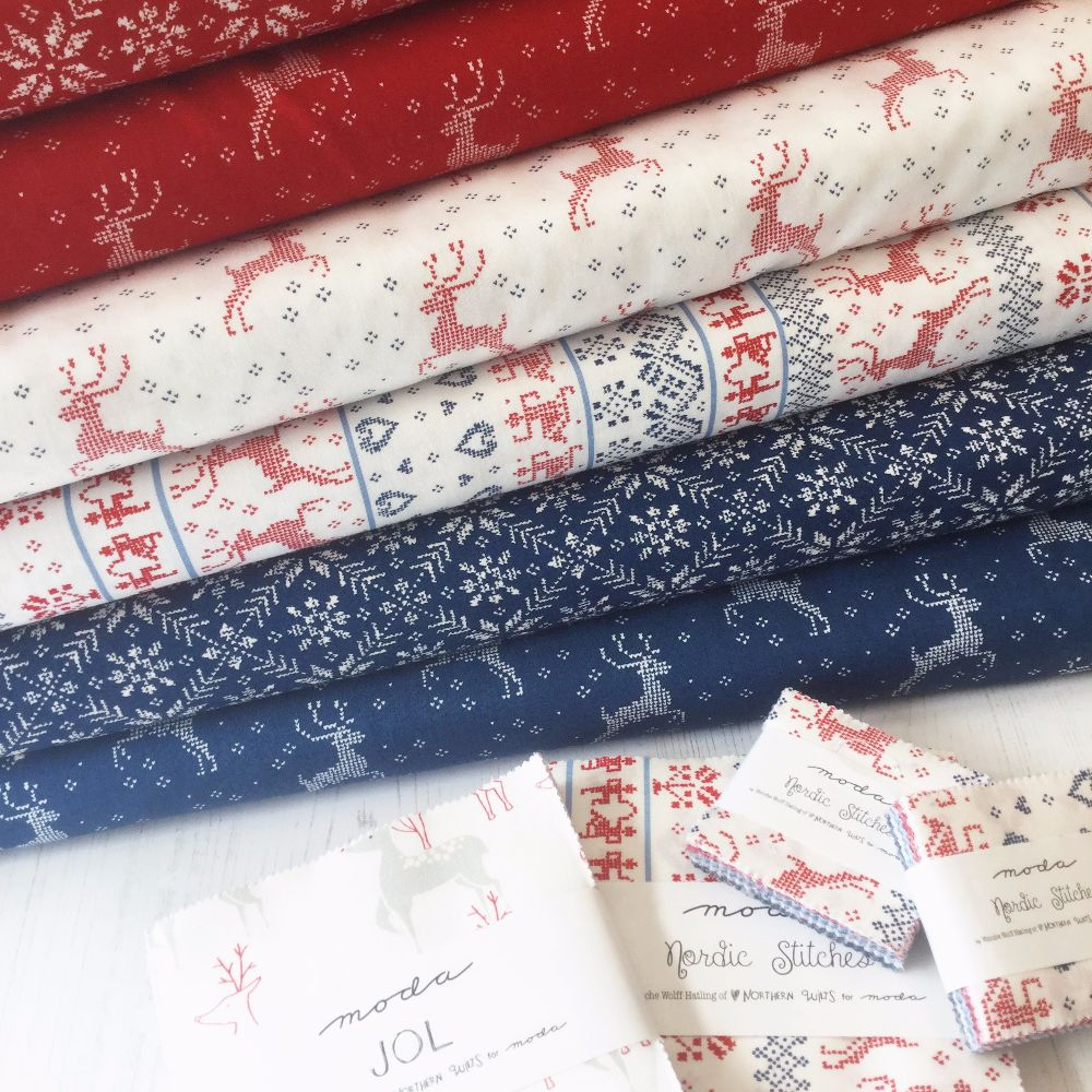 Moda Fabric ~ Nordic Stitches