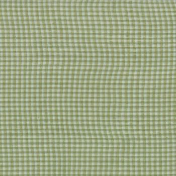Moda Fabrics ~ Snowfall Wovens ~ Mini Gingham Green