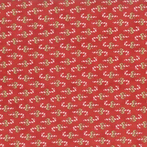 Moda Fabrics ~ Snowfall ~ Candy Cane Red