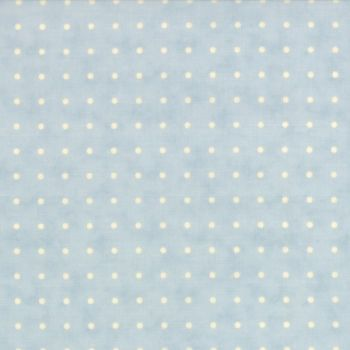 Moda Fabrics ~ Snowfall ~ Dots Snow White on Ice