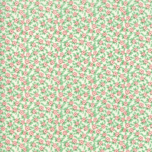 Moda Fabric ~ 30's Playtime 2017 ~ Bashful Blossoms Cotton