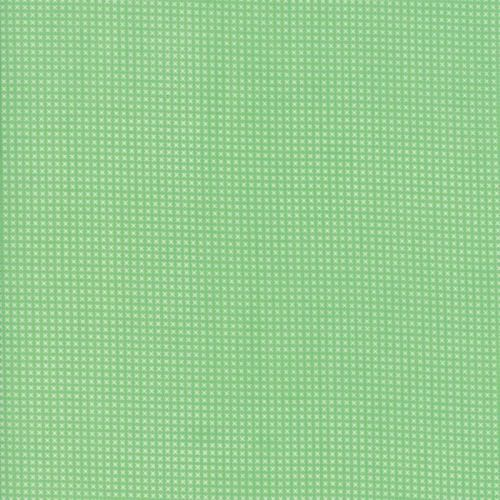 Moda Fabric ~ 30's Playtime 2017 ~ Cross Stitch Green