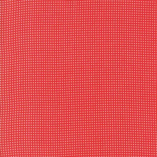 Moda Fabric ~ 30's Playtime 2017 ~ Cross Stitch Scarlett