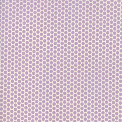 Moda Fabric ~ 30's Playtime 2017 ~ Kerchief Dot Lavender