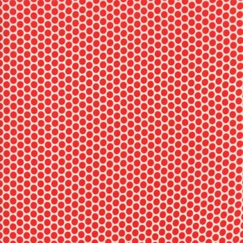 Moda Fabric ~ 30's Playtime 2017 ~ Kerchief Dot Scarlett