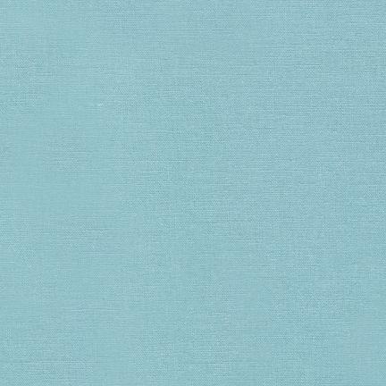 Robert Kaufman Fabrics ~ Essex Linen ~ Dusty Blue