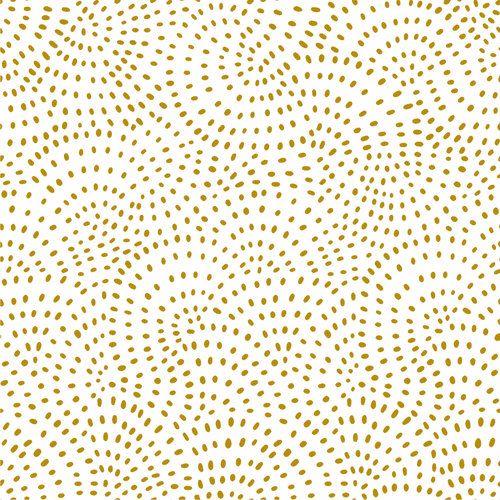 Dashwood Studio Fabric ~ Twist ~ Gold Metallic
