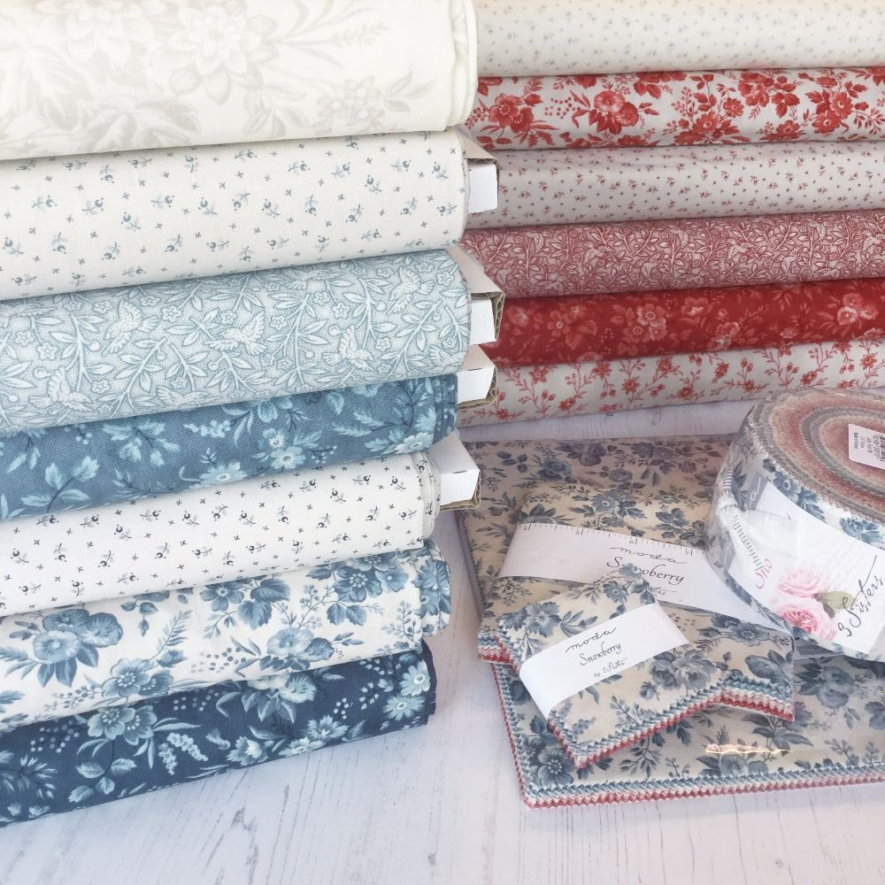 Moda Fabric ~ Snowberry