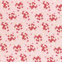 Lecien Fabric ~ La Conner ~ Bouquet in Peony Metallic