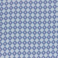 Lecien Fabric ~ La Conner ~ Floral Square in Blueberry