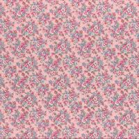 Lecien Fabric ~ Flower Bouquet ~ Posies Pink
