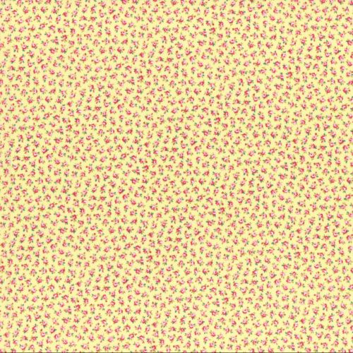 Lecien Fabric ~ Flower Bouquet ~ Tiny Buds Yellow