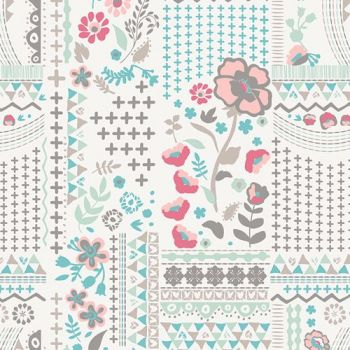 Art Gallery Fabrics ~ Le Vintage Chic ~ Wonderlust Field