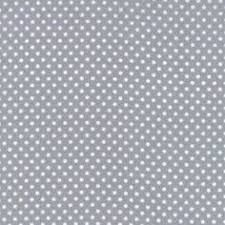 Sevenberry Fabric ~ Pin Dot in Grey