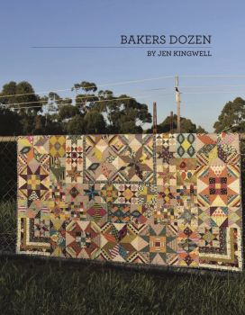 Jen Kingwell Designs ~ Pattern Booklet ~ Bakers Dozen