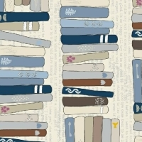 Windham Fabrics ~ Literary ~ On the Shelf