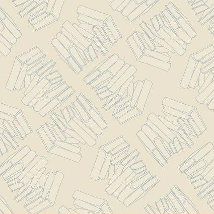 Windham Fabrics ~ Literary ~ Stacks