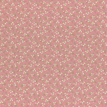 Lecien Fabric ~ Retro 30's Smile Child Spring 2017 ~ Ditsy Floral Pink