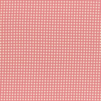 Lecien Fabric ~ Retro 30's Smile Child Spring 2017 ~ Dotty Heart Pink