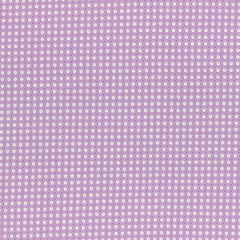 Lecien Fabric ~ Retro 30's Smile Child Spring 2017 ~ Dotty Heart Purple