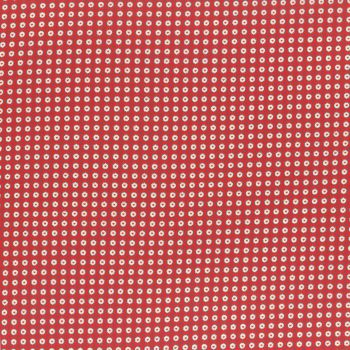 Lecien Fabric ~ Retro 30's Smile Child Spring 2017 ~ Dotty Heart Red