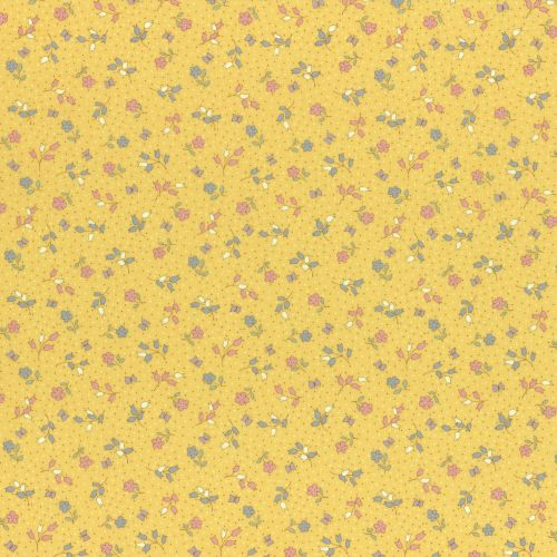 Lecien Fabric ~ Retro 30's Smile Child Spring 2017 ~ Flowers and Butterflie