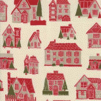 Moda Fabrics ~ Petite Maisons de Noel ~ Petites Maison