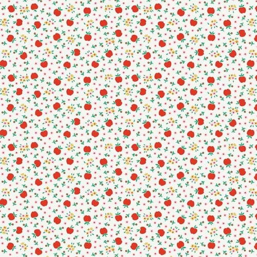 Penny Rose Fabrics ~ Apple Farm ~ Fresh White