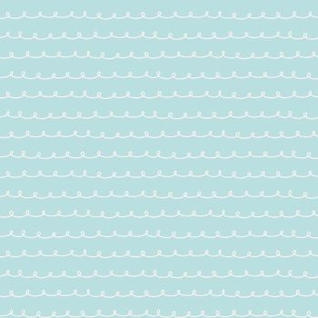 Penny Rose Fabrics ~ Little Dolly ~ Dolly Curly Blue
