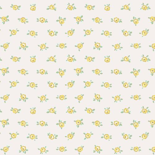 Penny Rose Fabrics ~ Little Dolly ~ Dolly Rose Yellow