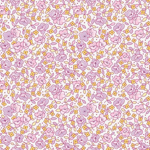 Penny Rose Fabrics ~ Little Dolly ~ Main Lilac