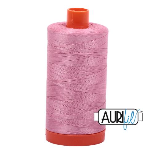 Aurifil ~ 50 wt Cotton ~ 2430 ~ Antique Rose Large Spool