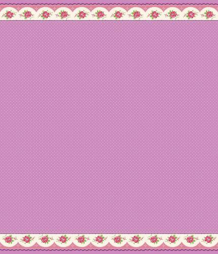 Penny Rose Fabrics ~ Prim and Proper ~ Border Stripe Purple (LONG QUARTER)