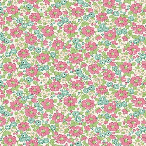 Penny Rose Fabrics ~ Prim and Proper ~ Main Pink