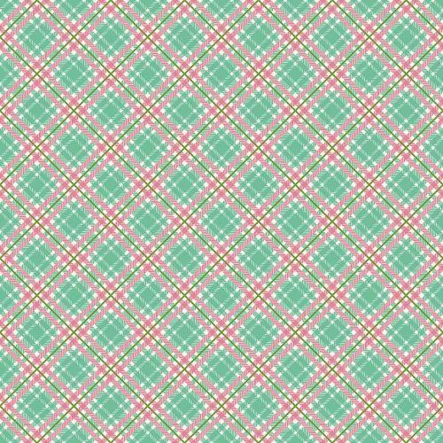Penny Rose Fabrics ~ Prim and Proper ~ Plaid Mint