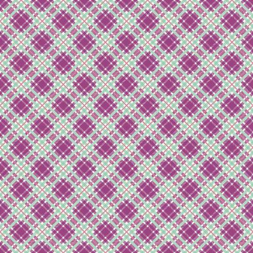 Penny Rose Fabrics ~ Prim and Proper ~ Plaid Purple