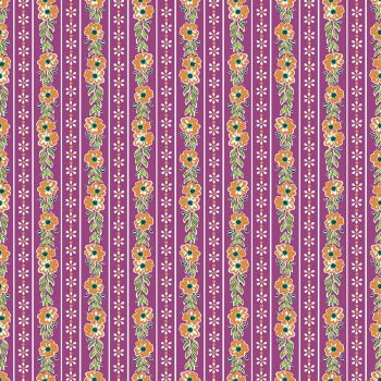Penny Rose Fabrics ~ Prim and Proper ~ Stripe Purple