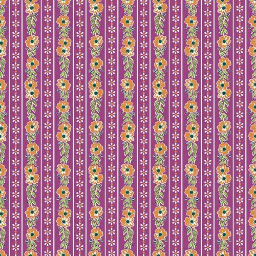 Penny Rose Fabrics ~ Prim and Proper ~ Stripe Purple