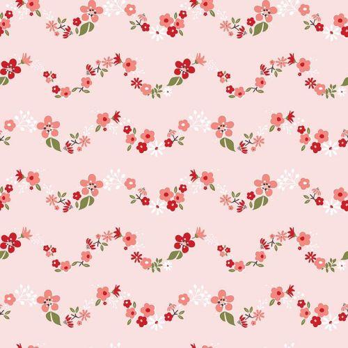 Riley Blake ~ Sweet Prairie ~ Chains Pink
