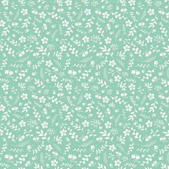 Riley Blake ~ Sweet Prairie ~ Floral Teal