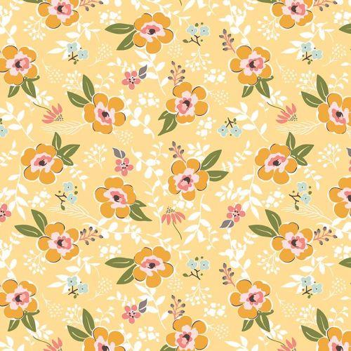 Riley Blake ~ Sweet Prairie ~ Main Yellow