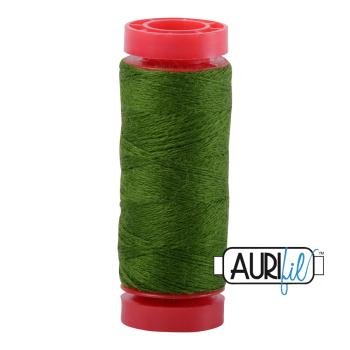 Aurifil ~ 12 wt Lana Wool ~ 8962 ~ Evergreen