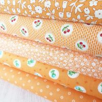 Penny Picks ~ 30's Reproduction Fabric Fat Quarter Bundle ~ Orange