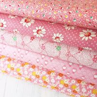 Penny Picks ~ 30's Reproduction Fabric Fat Quarter Bundle ~ Pink