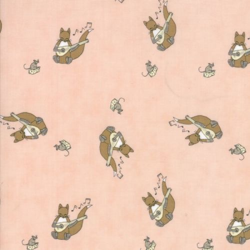 Moda Fabrics ~ Hushaby Hollow ~ Fox and Lute Sweet Cheeks