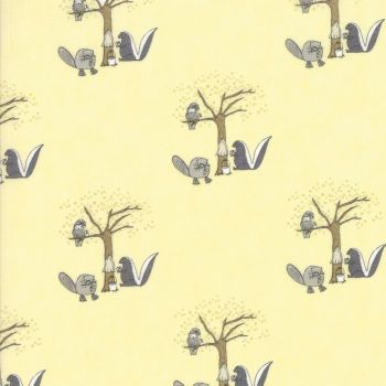 Moda Fabrics ~ Hushaby Hollow ~ Woodland Animals Twinkle