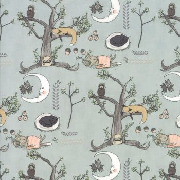 Moda Fabrics ~ Hushaby Hollow ~ Woodland Scene Breeze